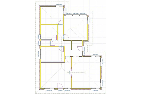 Drafted Floor Plan